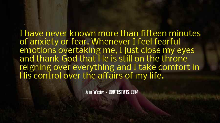 God In Control Quotes #100325