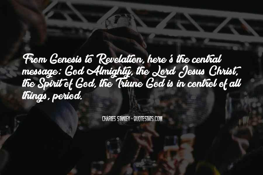 God In Control Quotes #130858