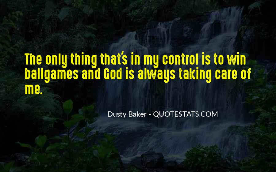 God In Control Quotes #147483