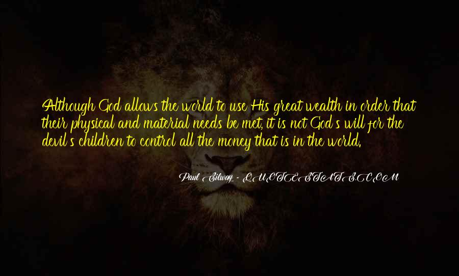 God In Control Quotes #185839