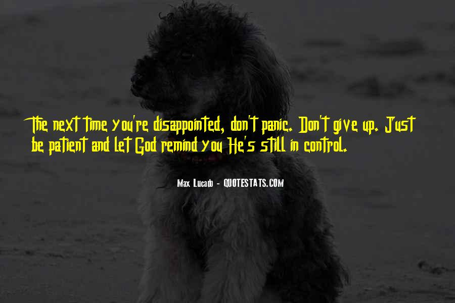 God In Control Quotes #29613