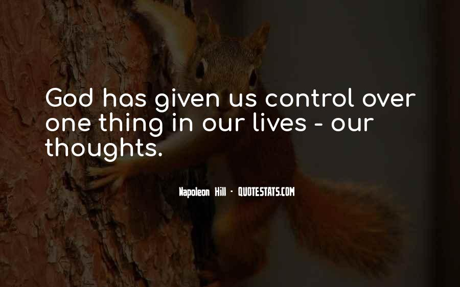 God In Control Quotes #425780