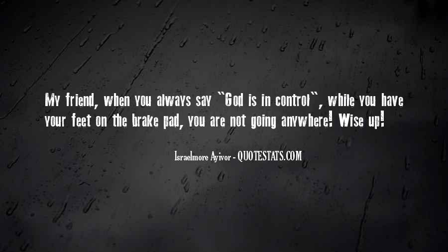 God In Control Quotes #457360