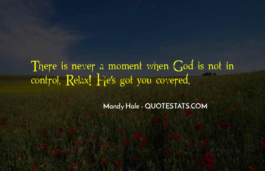 God In Control Quotes #484881