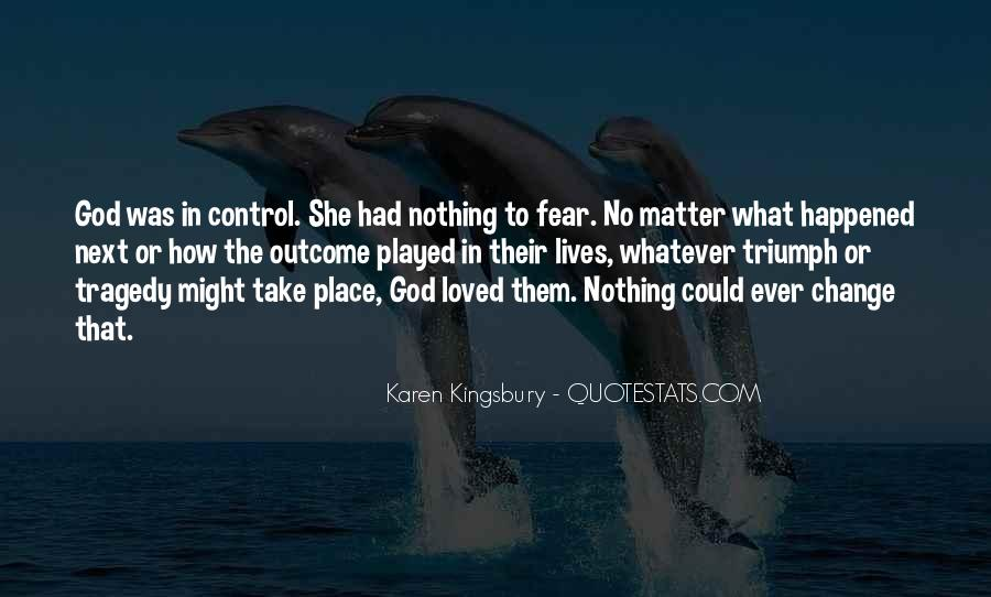 God In Control Quotes #540268