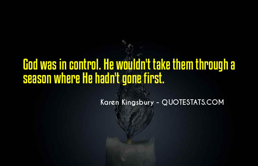God In Control Quotes #6303
