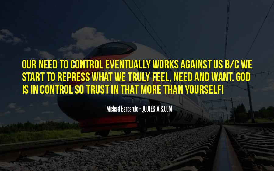 God In Control Quotes #655621