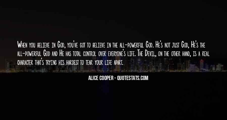 God In Control Quotes #694796