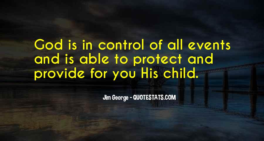 God In Control Quotes #739613
