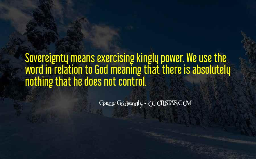 God In Control Quotes #753047