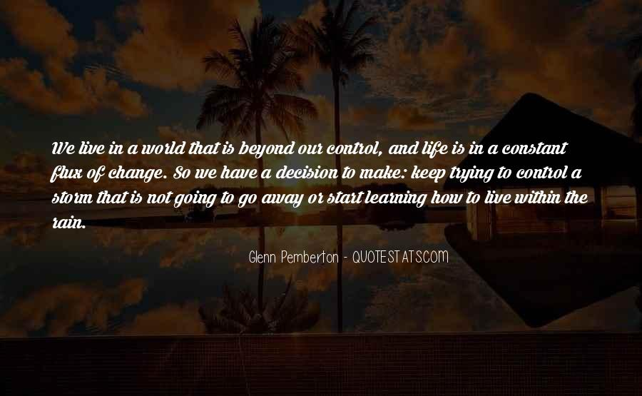 God In Control Quotes #825768