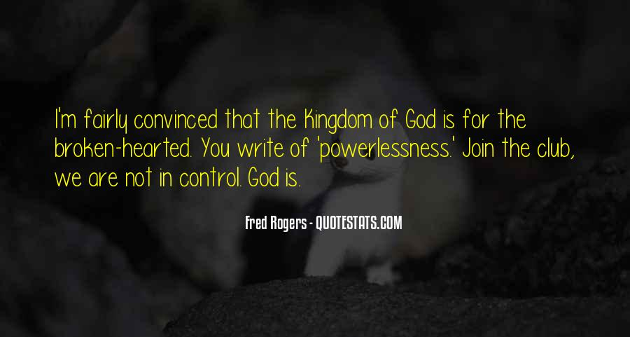 God In Control Quotes #882089