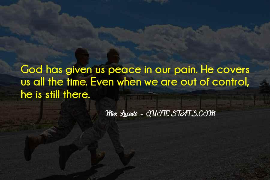 God In Control Quotes #937233
