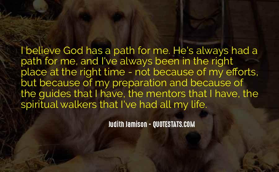 God Is Always Right On Time Quotes #758878