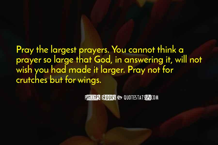 top god is answering quotes famous quotes sayings about god