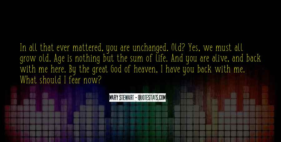 God Is Here Quotes #101301