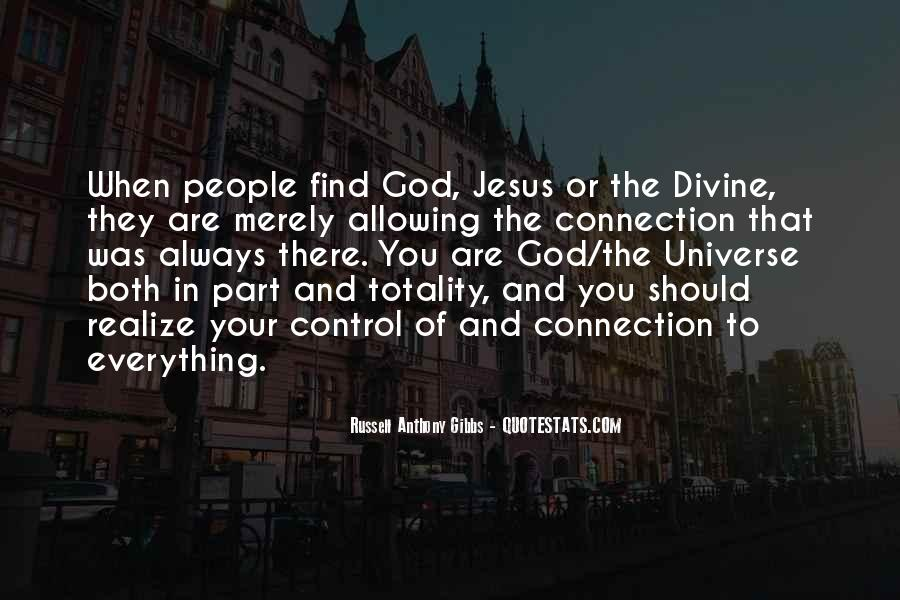 God Is In Control Of Everything Quotes #1471018