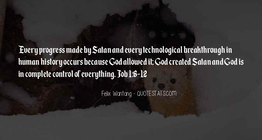God Is In Control Of Everything Quotes #1611384