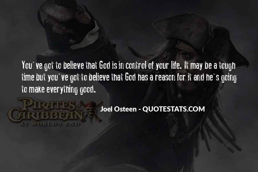 God Is In Control Of Everything Quotes #1771178