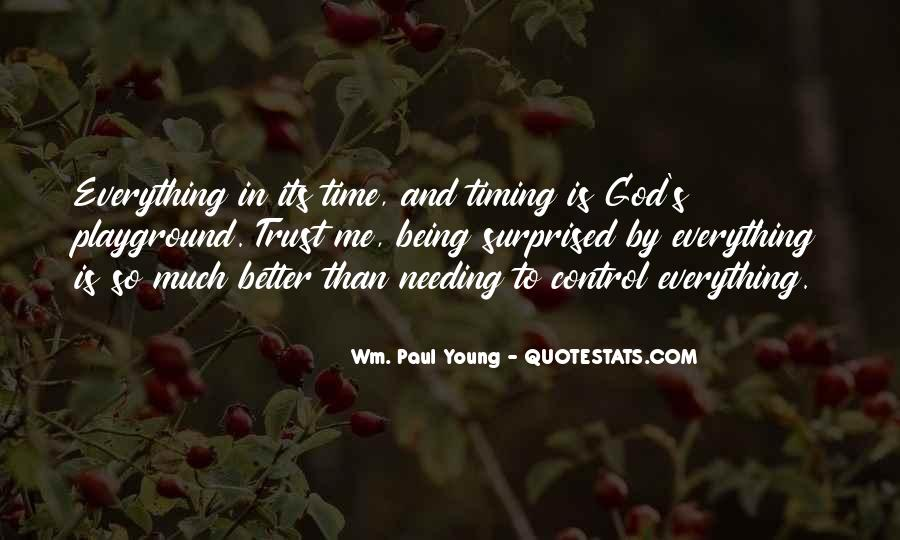 God Is In Control Of Everything Quotes #1801040