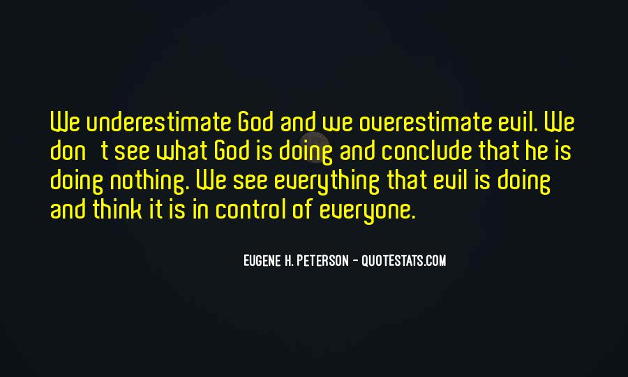 God Is In Control Of Everything Quotes #357209