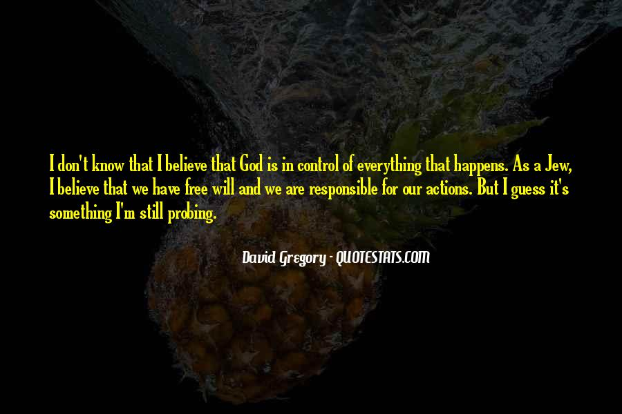 God Is In Control Of Everything Quotes #367099
