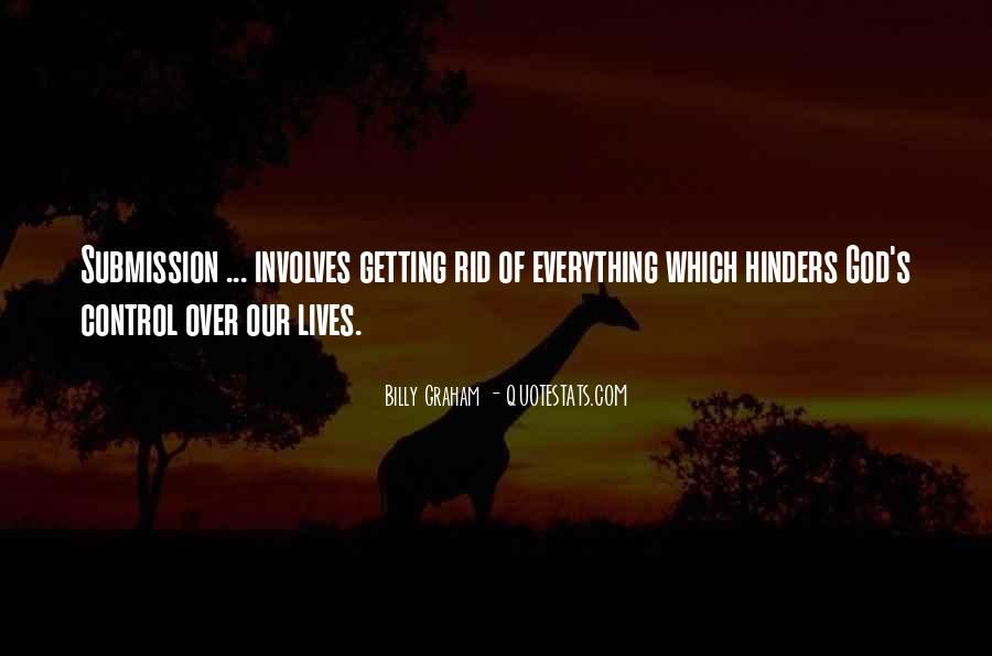 God Is In Control Of Everything Quotes #887792