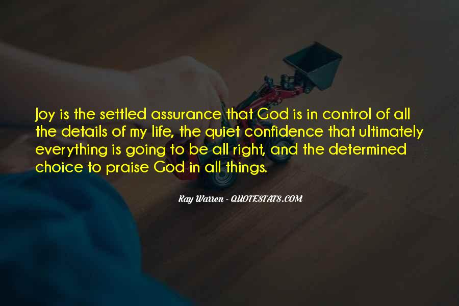 God Is In Control Of Everything Quotes #912499