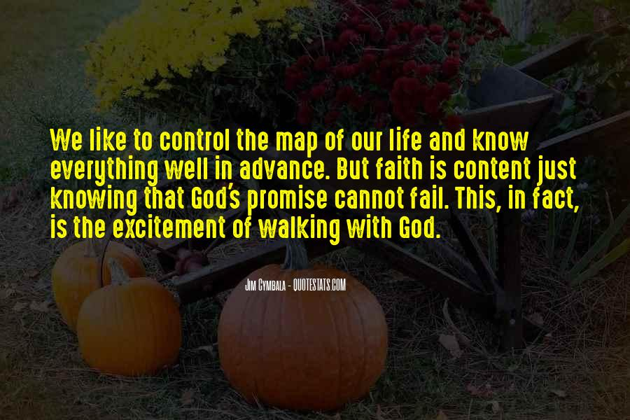 God Is In Control Of Everything Quotes #947945