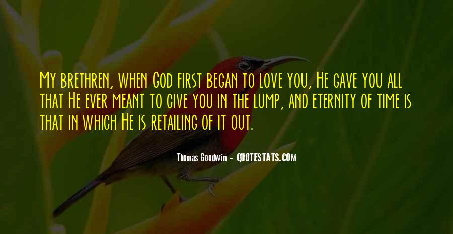 God Is My First Love Quotes #1542196