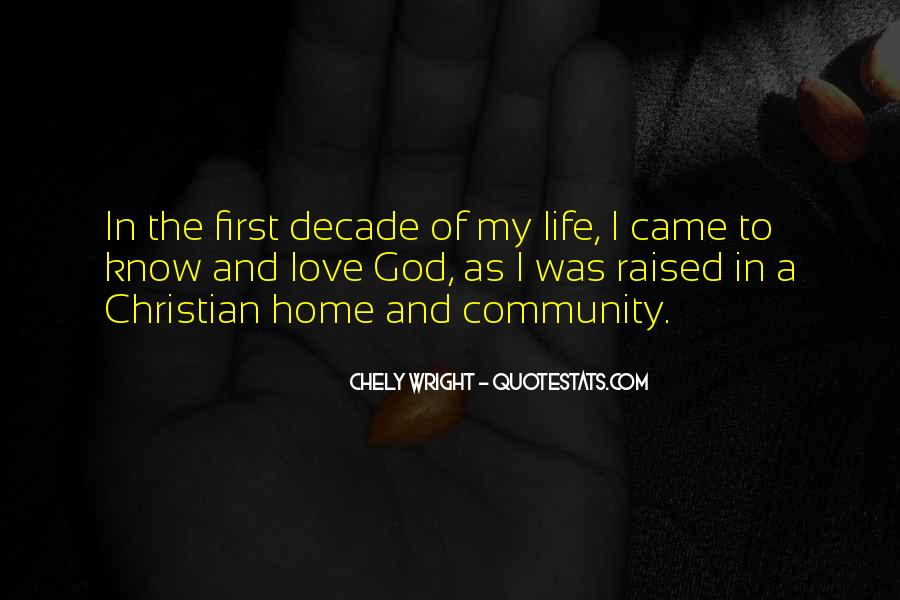 God Is My First Love Quotes #198860