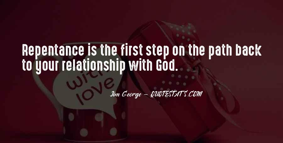 God Is My First Love Quotes #40081
