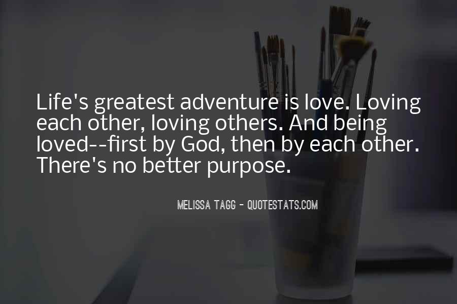 God Is My First Love Quotes #473951