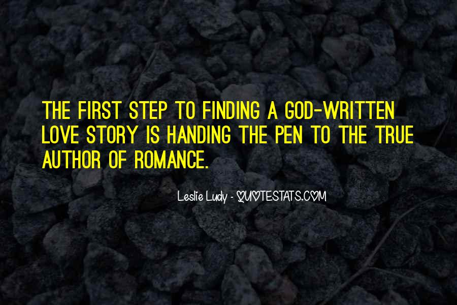 God Is My First Love Quotes #6454