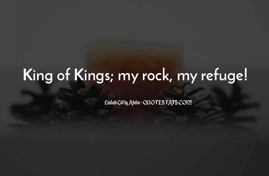 God Is My King Quotes #105264