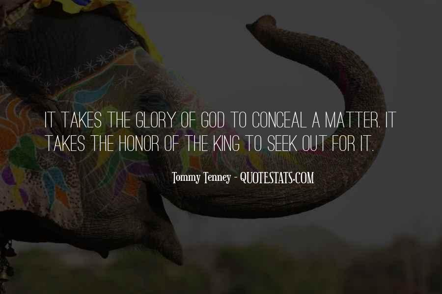 God Is My King Quotes #122250