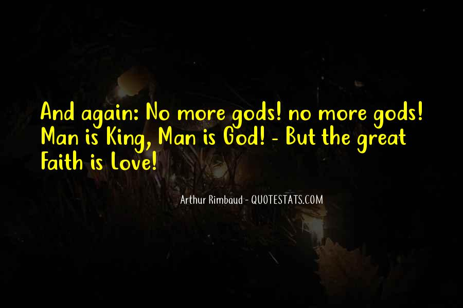 God Is My King Quotes #24617