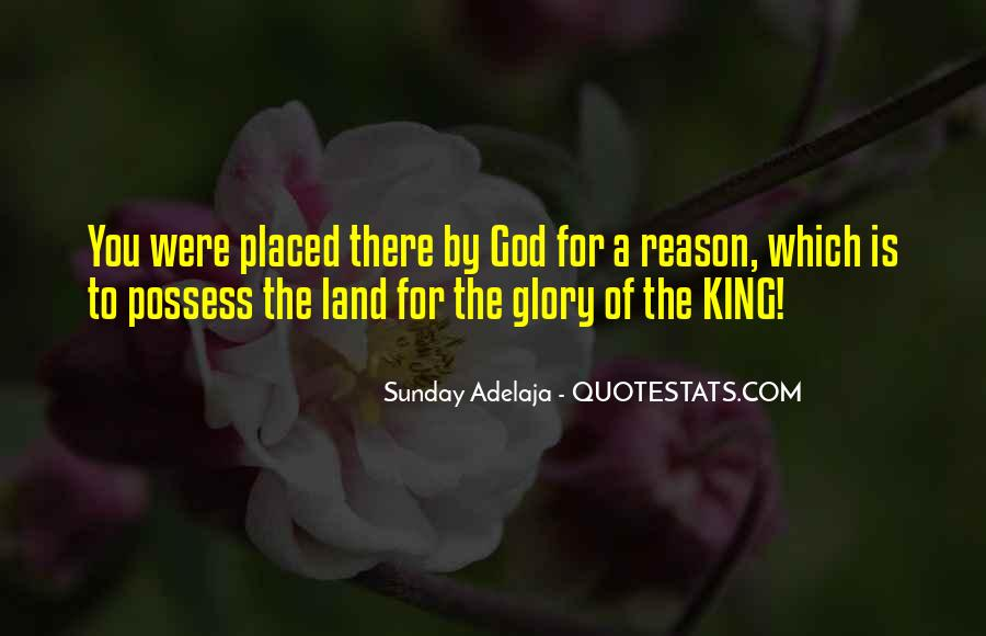 God Is My King Quotes #39789
