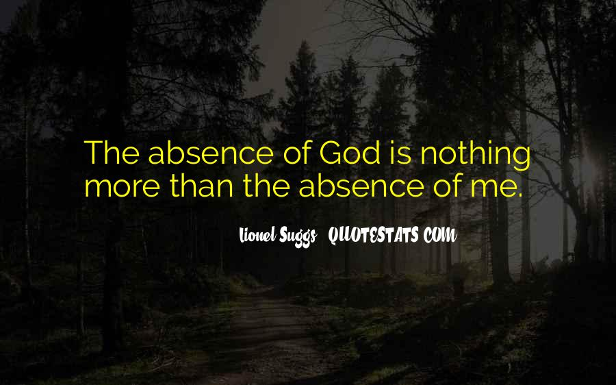God Is Quotes #1036