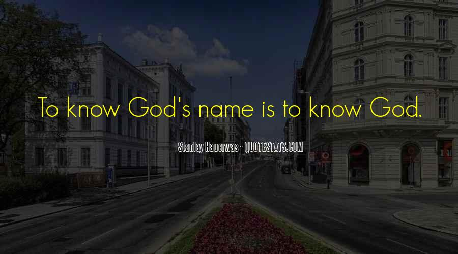 God Is Quotes #5128