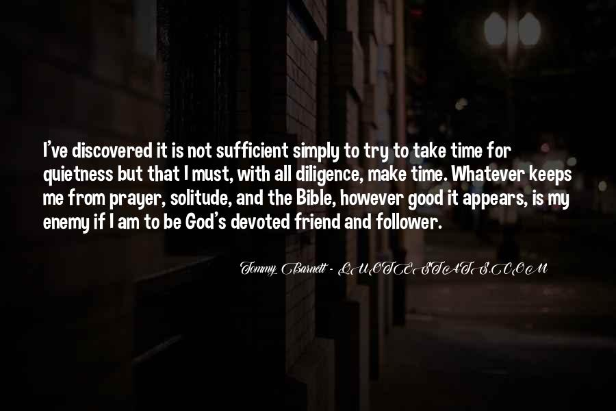 God Is Sufficient Quotes #1089715