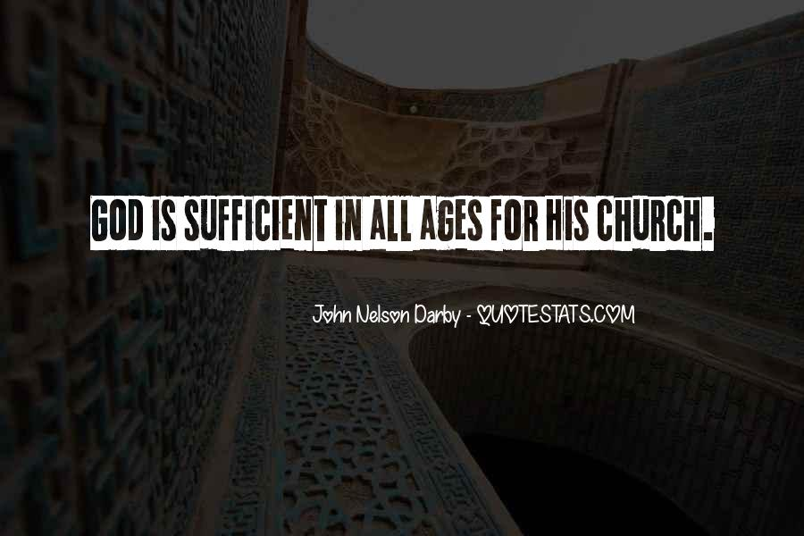 God Is Sufficient Quotes #1153845