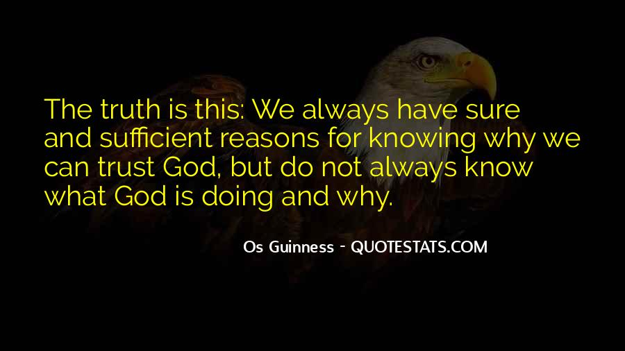 God Is Sufficient Quotes #1542622