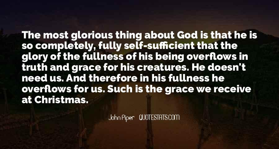 God Is Sufficient Quotes #1653325