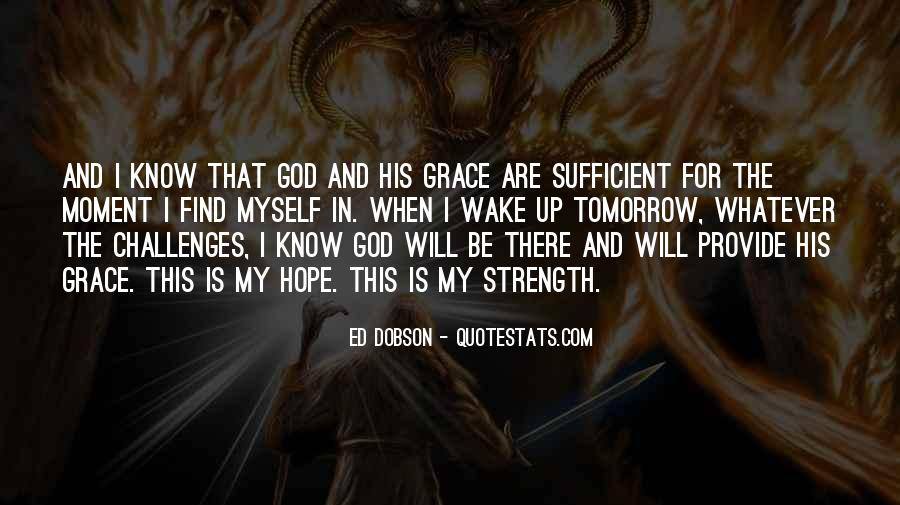 God Is Sufficient Quotes #1717099