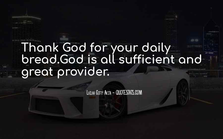 God Is Sufficient Quotes #175925