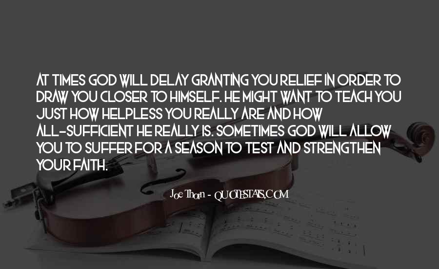God Is Sufficient Quotes #288061