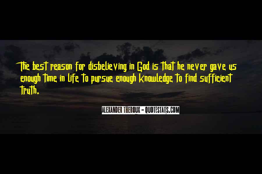 God Is Sufficient Quotes #73060