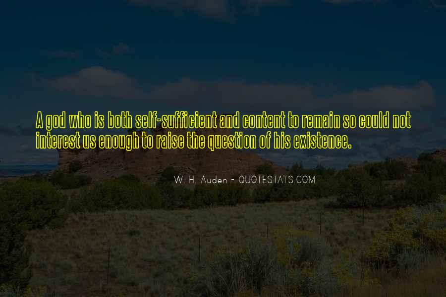 God Is Sufficient Quotes #774190