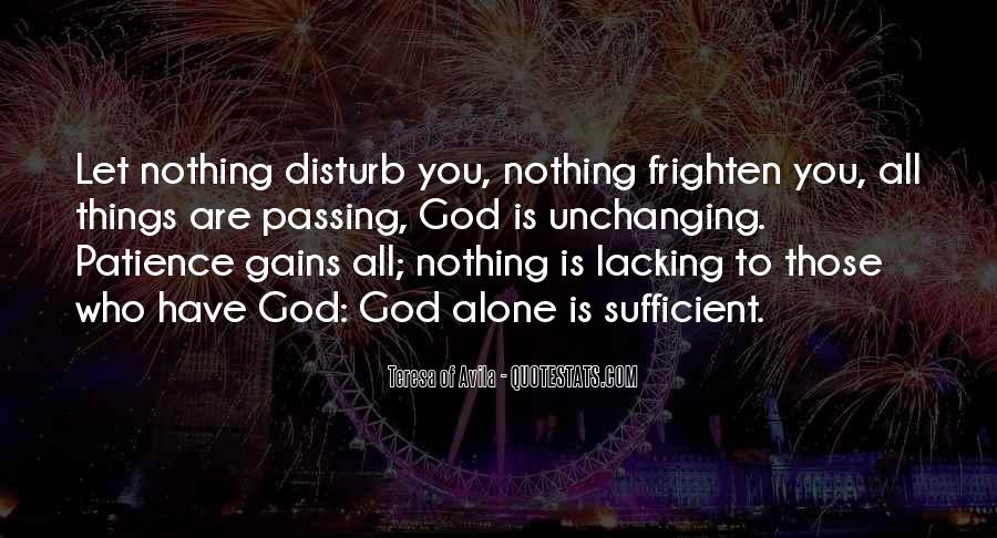 God Is Sufficient Quotes #894817